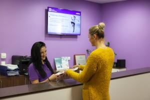 recepcia klinika ortopedika